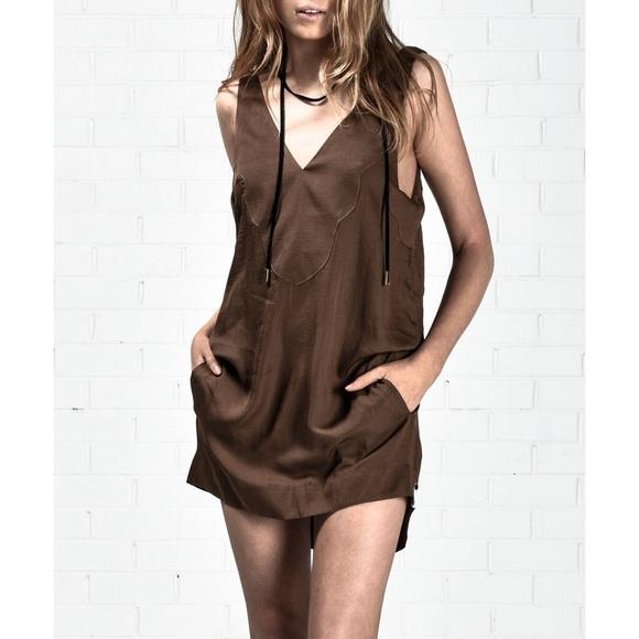 97938383c55c One Teaspoon Dresses | Le Freak Cisco Dress In Brown | Poshmark